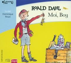 Roald Dahl - Moi, boy. Gallimard jeunesse, Écoutez lire.jpg