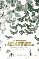 La chanson dans la littérature de jeunesse, Artois presse Université, collection Études littéraires-Enfances.jpg