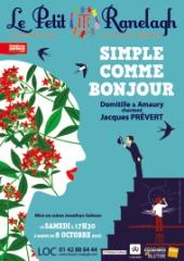 Domitille et Amaury - Simple comme bonjour Domitille et Amaury chantent Jacques Prévert.jpg