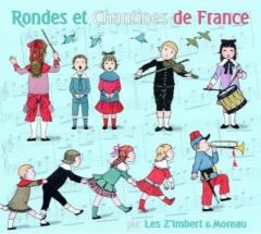 Les Z'imbert & Moreau - Rondes et chantines de France.jpg