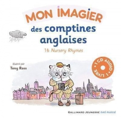 Mon imagier des comptines anglaises, 16 nursery rhymes.jpg