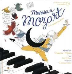 Carl Norac - Monsieur Mozart  Raconté par François Morel.jpg
