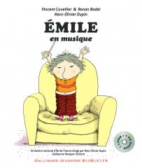 Vincent Cuvellier, Emile en musique - Gallimard Giboulées.jpg